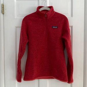 Patagonia women size small better sweater 1/4 zip